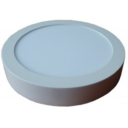 Spot LED rond en saillie 18 Watts Blanc chaud