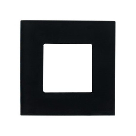 PLAQUE DE FINITION 2 MODULES ANTHRACITE