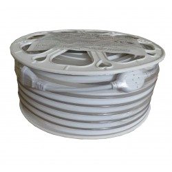 Néon flexible 230V 9Watts/m blanc chaud IP67