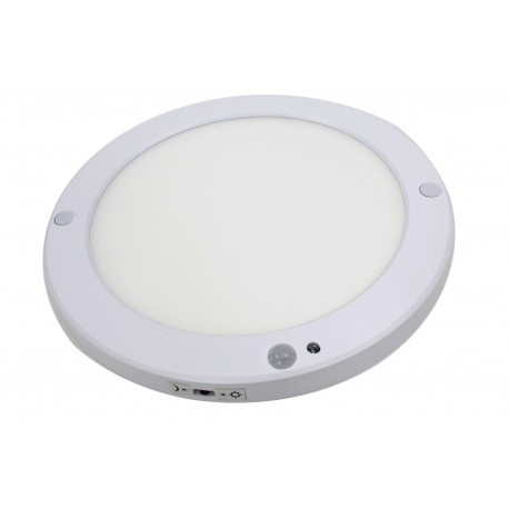 Spot LED rond en saillie mince à détection infra rouge 18 Watts Blanc neutre