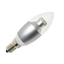 LED flamme claire 340 Lm (4 W)