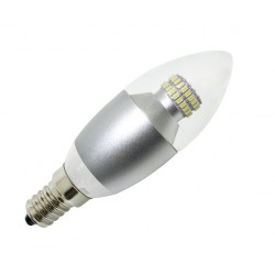 LED flamme claire 550 Lm (6 W)
