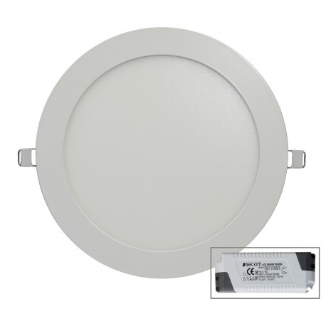 Downlight 18W NUVA 4000K avec driver