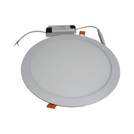 Spot LED rond encastrable 24 Watts Blanc neutre avec driver