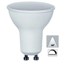 GU10 5.5W 350 LM 4000k 120) dimmable
